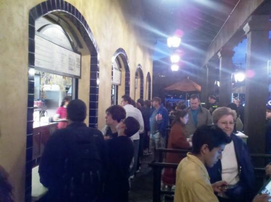 La Cantina De San Angel: order line
