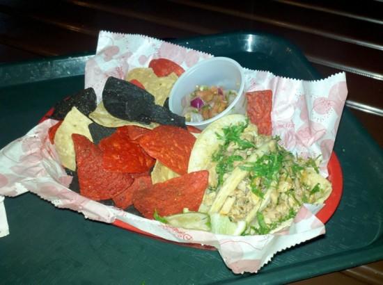La Cantina de San Angel: My order of Chicken Tacos