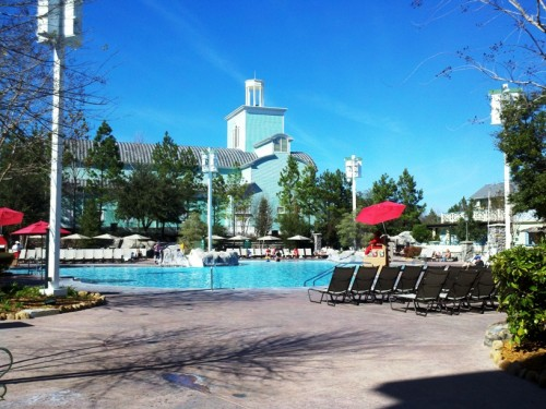 Saratoga Springs pool area
