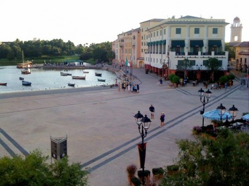 Singing fills the air at Loews Portofino Bay Hotel