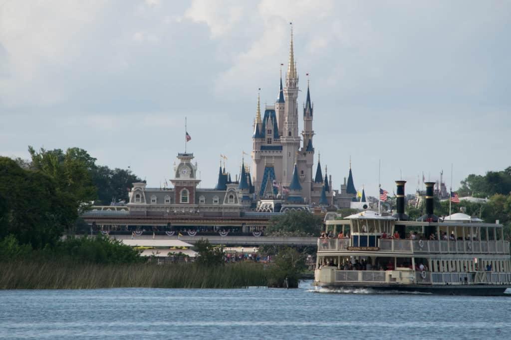 Ferries at Magic Kingdom at Walt Disney World