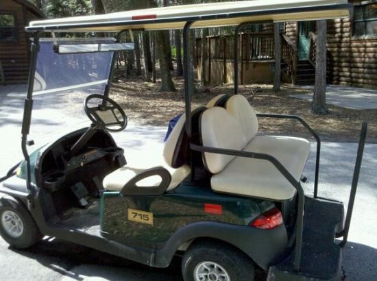 Fort Wilderness golf cart rental