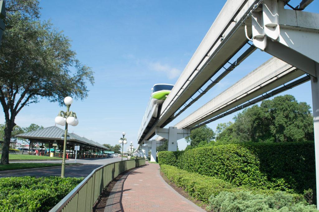 The Contemporary walkway to Magic Kingdom at Disney World