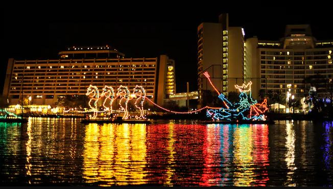 The Electrical Water Pageant at Walt Disney World