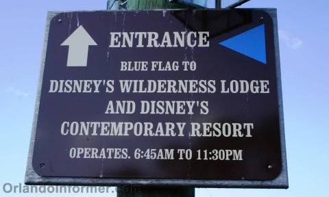 disney's wilderness lodge & fort wilderness transportation