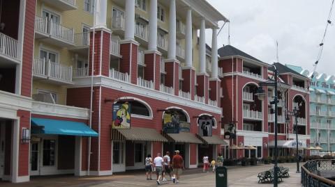 Disney's BoardWalk resort area.