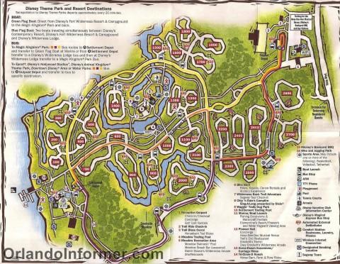 Disney S Wilderness Lodge Amp Fort Wilderness Transportation