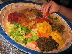 Nile Ethiopian meal courtesy of Yelp.