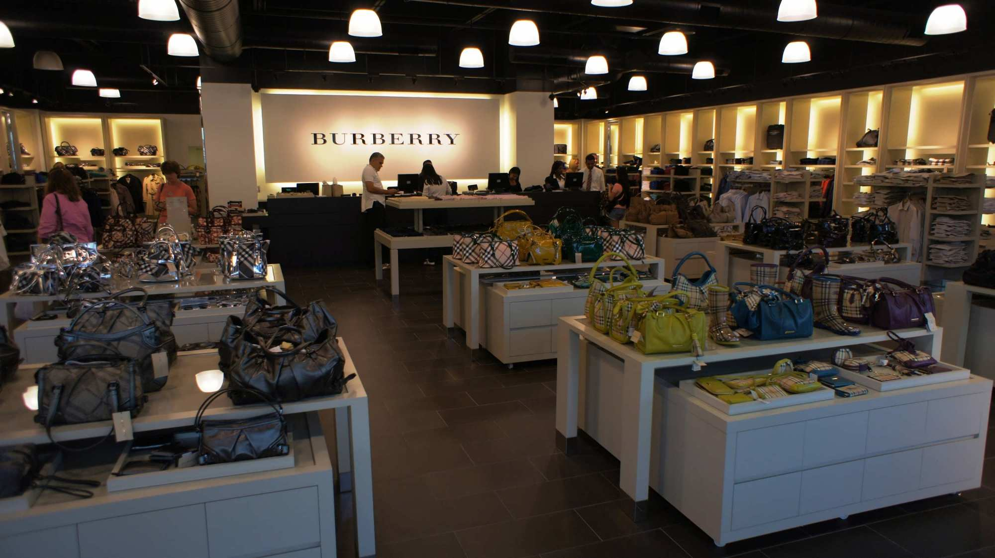 closest oakley store to me n5qp  Orlando Premium Outlets Vineland Ave: Inside the Burberry store