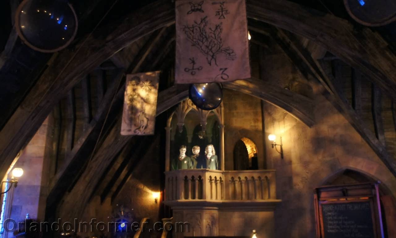 Harry Potter and the Forbidden Journey defense against the dark arts classroom