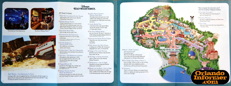 2011 Walt Disney World vacation brochure: Let the memories begin!