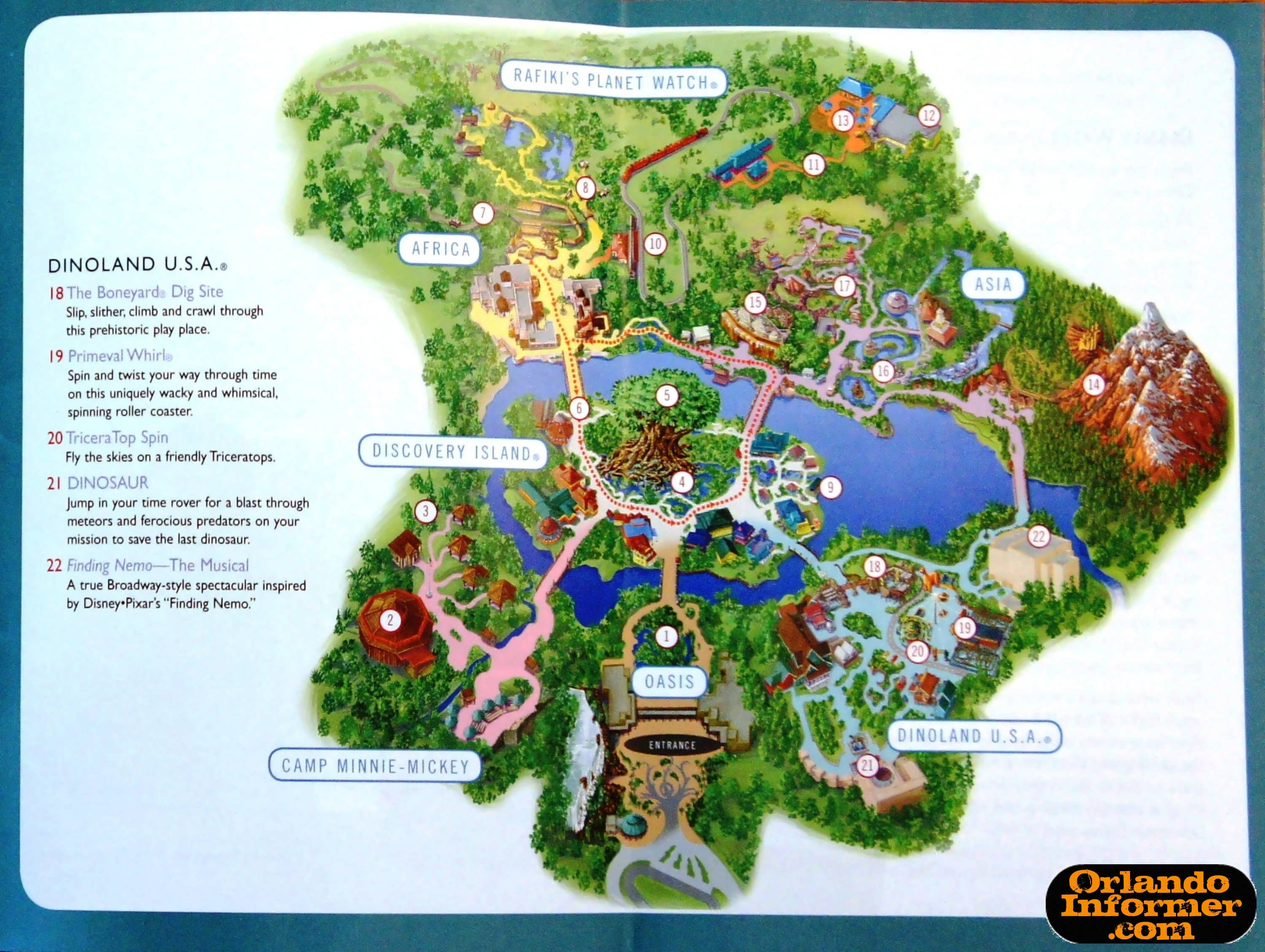 Kingdom Map 2012 Pdf Disney Em Orlando. Disney World Magic Kingdom Map ...