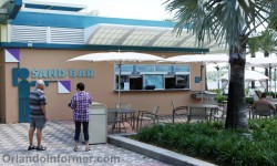Disney's Contemporary Resort: Sand Bar - who's buying?