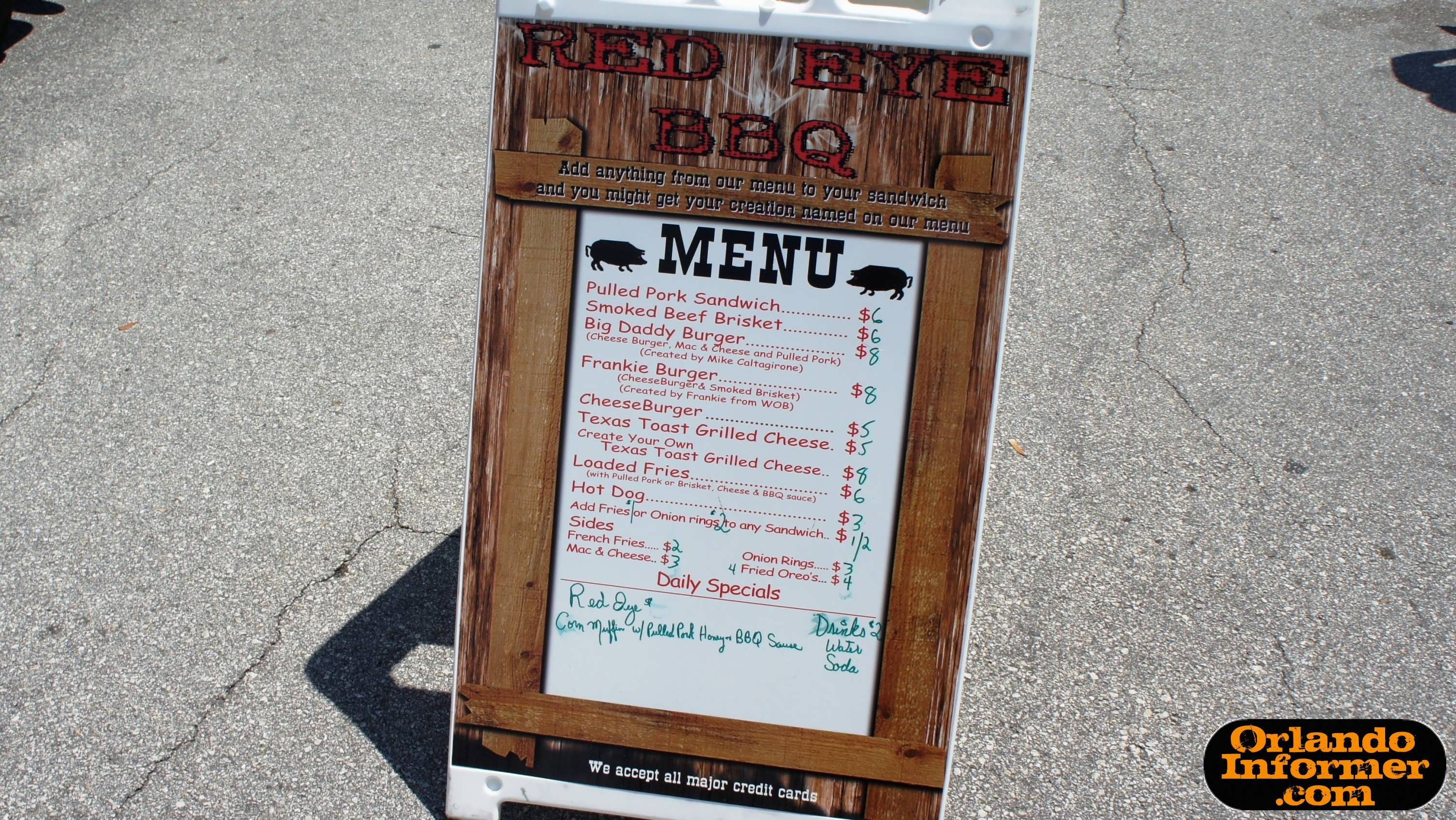 Red eye bbq food truck orlando 39 s premier bbq on wheels for Kitchen 88 food truck utah menu