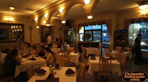 Cedar's Restaurant of Orlando: Inside seating area.
