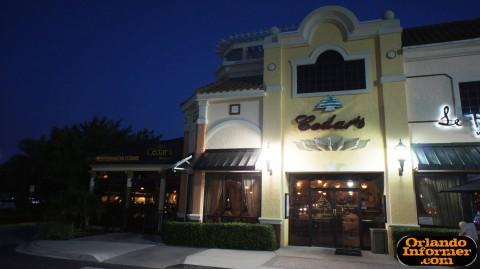 Cedar's Restaurant of Orlando: Exterior.