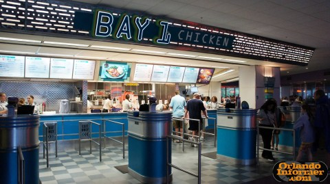 Cosmic Ray's Starlight Cafe: Bay 1 - chicken.