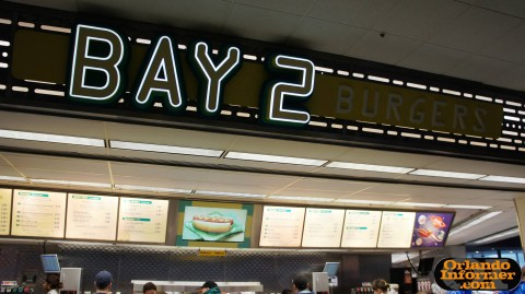 Cosmic Ray's Starlight Cafe: Bay 2 - burgers.