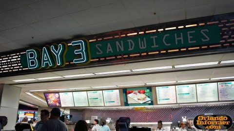 Cosmic Ray's Starlight Cafe: Bay 3 - sandwiches.