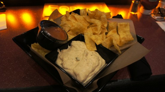AMC Fork & Screen at Downtown Disney: Crab Rangoon Dip.