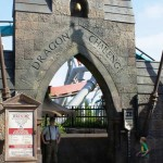 The entrance to Dragon Challenge at Universal's Islands of Adventure.
