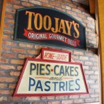 TooJay's Original Gourmet Deli: Pies, cakes, and pastries.