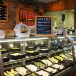 TooJay's Original Gourmet Deli: To-go counter.