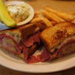 TooJay's Original Gourmet Deli: Reuben sandwich.