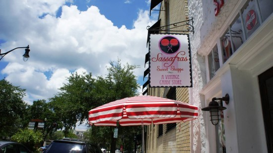 Sassafras Sweet Shoppe in Winter Park, Florida.