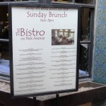 Bistro on Park Ave in Winter Park, Florida.