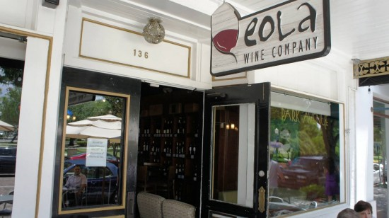 Eola Wine Company in Winter Park, Florida.