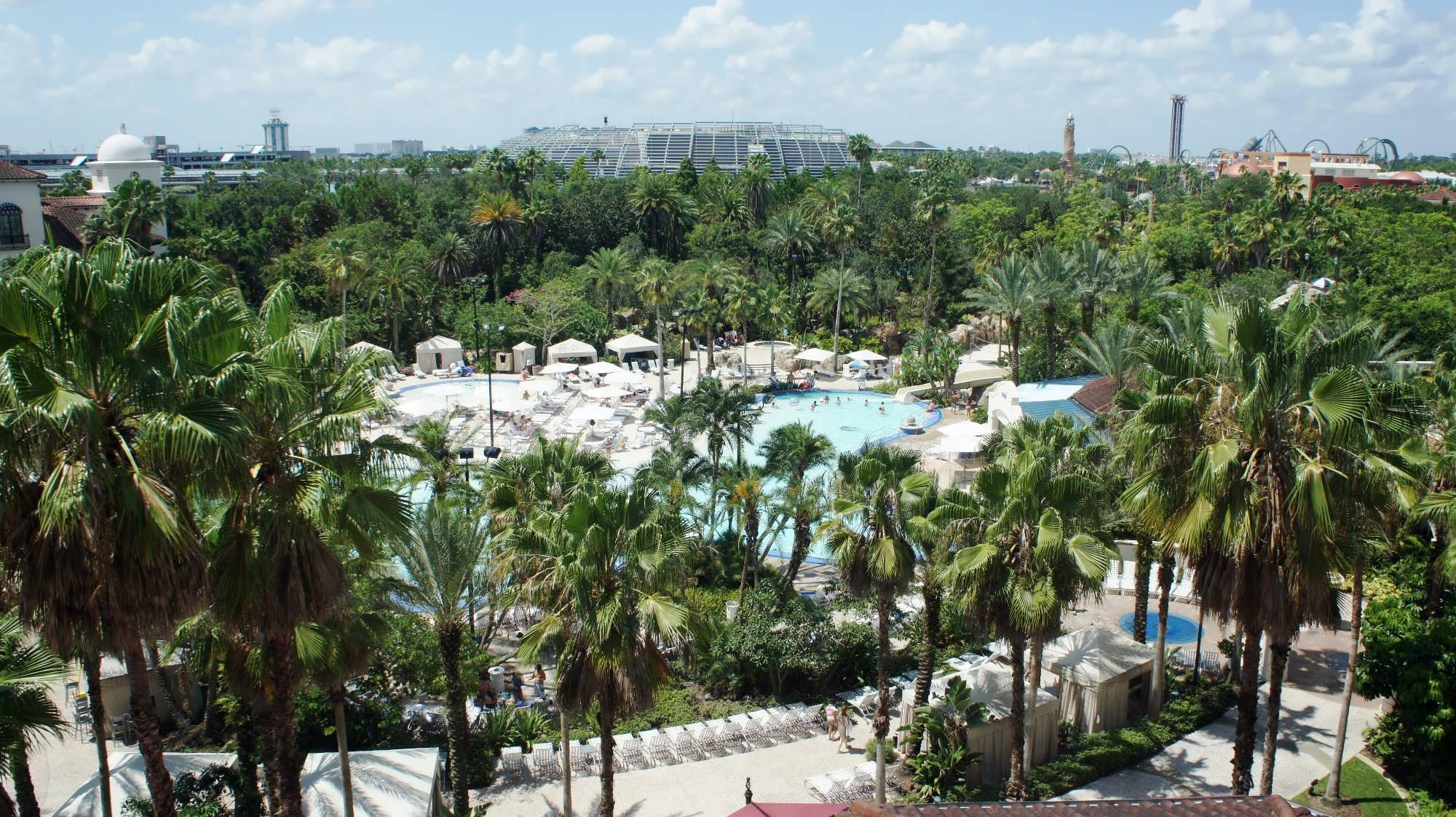 Hard Rock Orlando pool view
