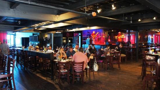 BB King's Blues Club at Pointe Orlando: Inside the club.