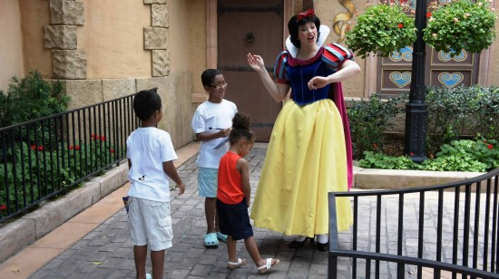Germany Pavilion: Did I have one too many or did I just see Snow White?