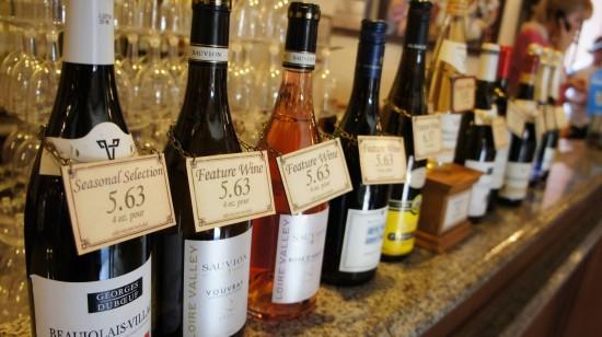 Drink around the world: France Pavilion.