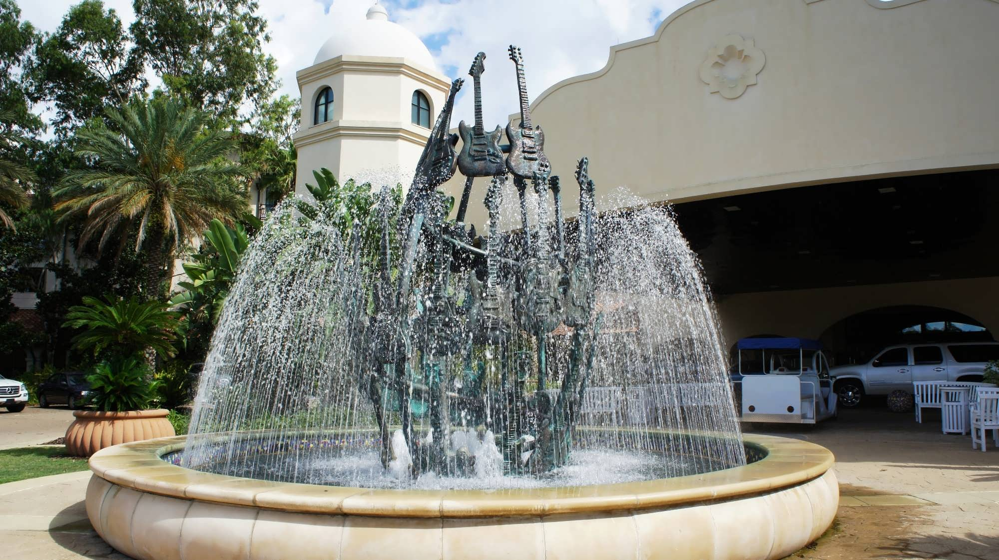 Hard Rock Hotel Orlando entrance area