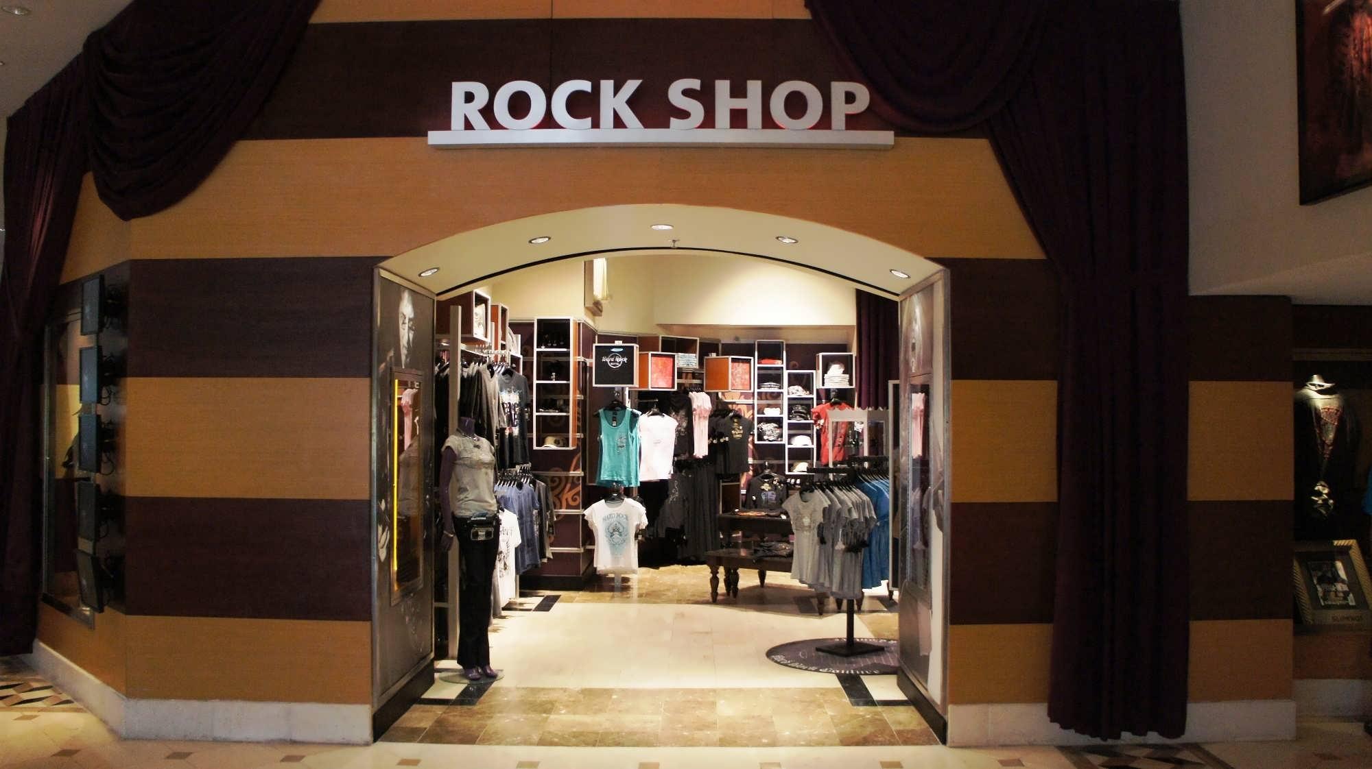 Hard Rock Hotel Orlando Rock Shop