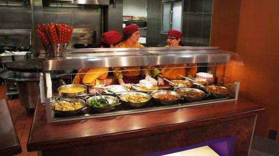 Sunshine Seasons Food Court at Epcot's Land Pavilion: Asain Noodles.
