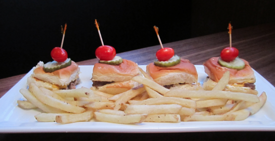 Dave & Buster's Orlando: Original Bar Burgers entree.