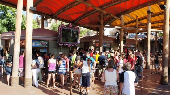 Universal's Islands of Adventure trip report - July 2011: Islands of Adventure ticket windows.