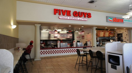 Orlando Premium Outlets International Drive: Or try Five Guys at the food court.