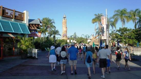 Universal's Islands of Adventure trip report - July 2011.