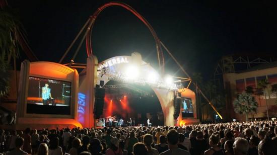 Universal Studios Florida Summer Concert Series 2011: Boys Like Girls performs.