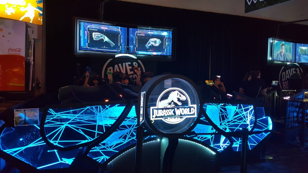 """Jurassic World: VR Expedition"" at Dave & Buster's Orlando"