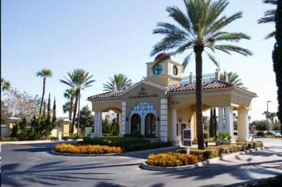 Hilton Grand Vacation Club on International Drive in Orlando.