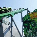 Incredible Hulk Coaster at Universal's Islands of Adventure.