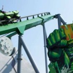 DCG The Incredible Hulk Coaster at Islands of Adventure's Marvel Super Hero Island.