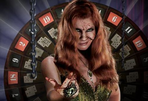 Lady Luck, the icon for Halloween Horror Nights 21.