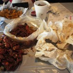 Hot 'n Juicy Crawfish Restaurant in Orlando: Doing in the old fashioned way.