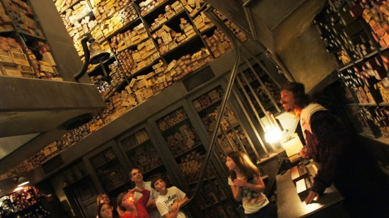 Ollivander's Wand Shop at Universal's Wizarding World of Harry Potter.